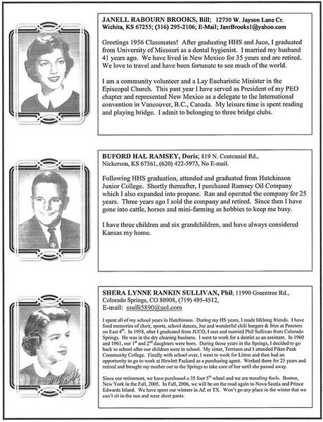 Janell Rabourn Brooks - Burord Hal Ramsey - Shera Lynne Rankin Sullivan