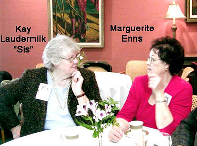 Kay Laudermilk Tharp and Marguerite Ennis Moore