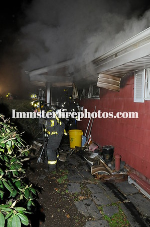 HICKSVILLE FD KING ST HOUSE FIRE