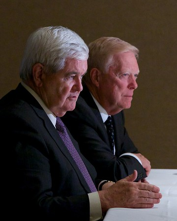 Real Talks Atlanta - Newt Gingrich & Dick Gephardt