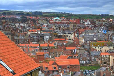 THE ROOFS OF WHITBY