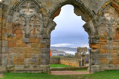 WHITBY ABBEY AND NORTH SEA-2