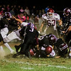 Fitchburg and Groton-Dunstable in action during the game on Friday, October 20, 2017. SENTINEL & ENTERPRISE / Ashley Green