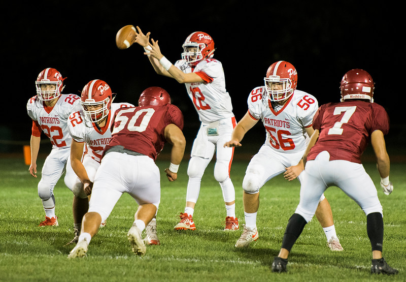 North Middlesex and Fitchburg High face off at Crocker Field on Friday, September 29, 2017. SENTINEL & ENTERPRISE / Ashley Green