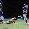 Lunenburg's Adam Peplowski runs it in for a touchdown during the game against Monty Tech on Friday, September 22, 2017. SENTINEL & ENTERPRISE / Ashley Green