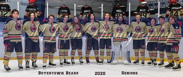 Bears seniors 2020