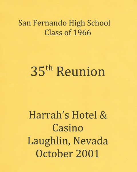 35 Year Reunion Cover