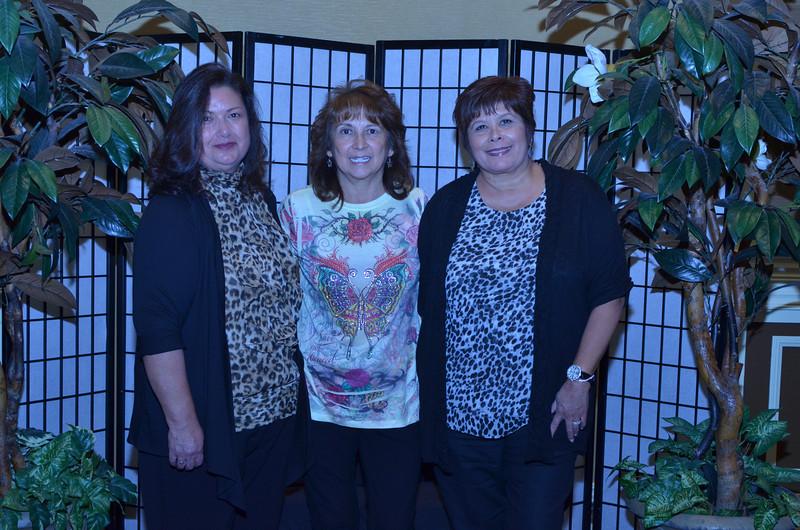 Olga Granados, Patsy Bates, Felicia Magallanes