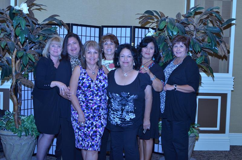 Alice Ambrize, Olga Granados, Stella Wynn, Patsy Bates, Gloria Reyes, Irma Vela, Felicia Magallanes