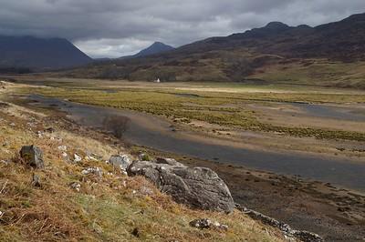 Between Lochcarron and Applecross ...
