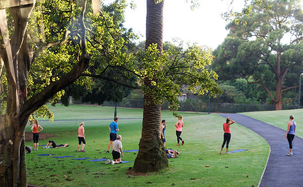 DAY 13; Depart for New Zealand, land at Christchurch, bus to Mt. Cook: Workout in Botanical Garden Park, Sydney