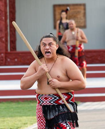 Warrior greeting