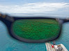 At Michaelmas Cay, polarized sunglasses make a world of difference
