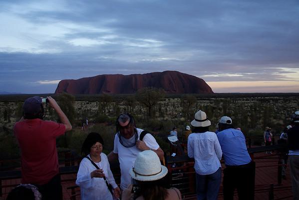 Uluru sunrise 11