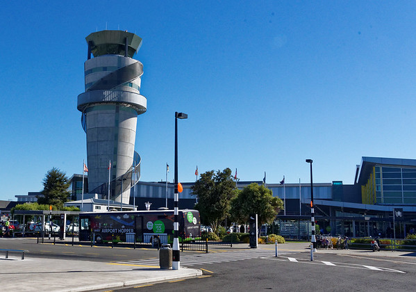 Christchurch airport - Christchurch suffered massive earthquakes in 2010 and 2011