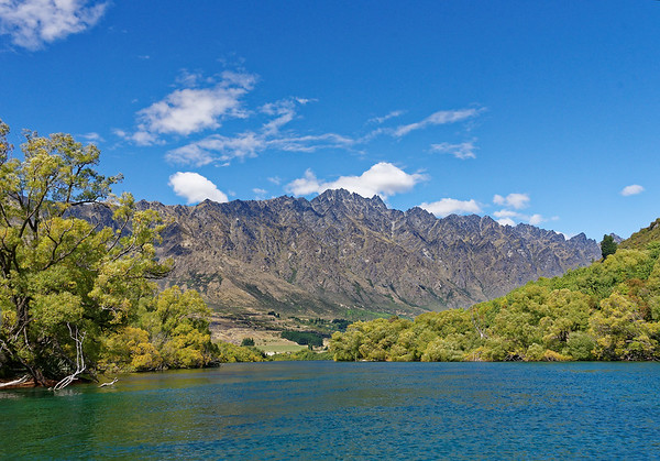 The Remarkables - only entire range running North/South