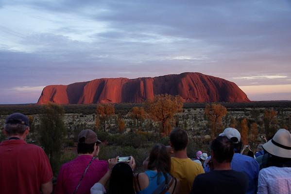 Uluru sunrise 7