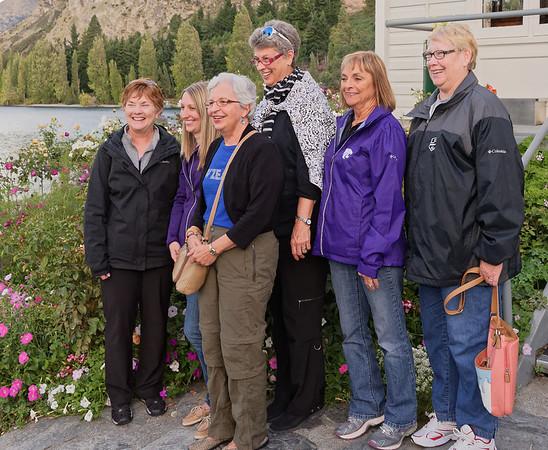 Janet, Megan, Rita, Suzanne, Linda and Gloria