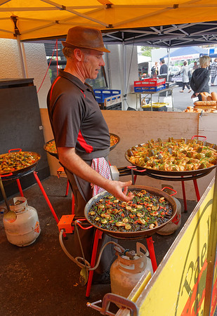 Great looking dishes, La Cigale Market