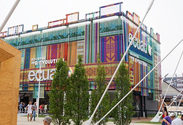 Expo Milano 2015:  Ecuador