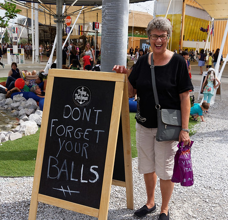 Expo Milano 2015:  A departing message from the clever Dutch