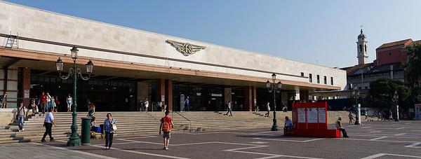 Santa Lucia, Facist-era train station