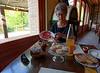 DAY 7:  Mondo Antico, breakfast with Parma ham