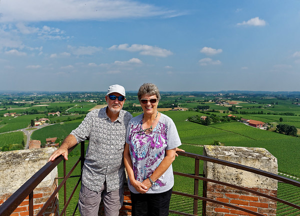 Tower of San Martino della Battaglia; Richard and Suzanne
