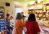 Ronca, La Casara; busy storefront