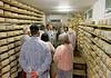 Ronca, La Casara; aging cheese