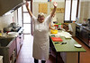 Borgo San Doninio; Marina is ready to cook