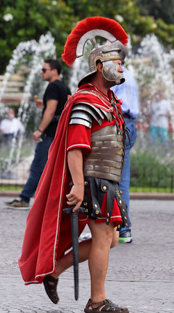 Verona: and the occasional Roman soldier wanders by