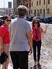 Marzia, our guide in Mantua