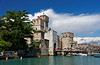 Sirmione; Castle and harbor