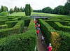 Valeggio, Parco Sigurta Giardino; exiting the maze composed of 1,500 yew trees