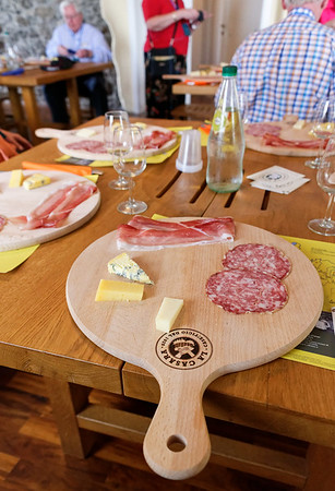 Ronca, La Casara; the tasting