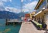 Malcesine, Lake Garda; lakeside