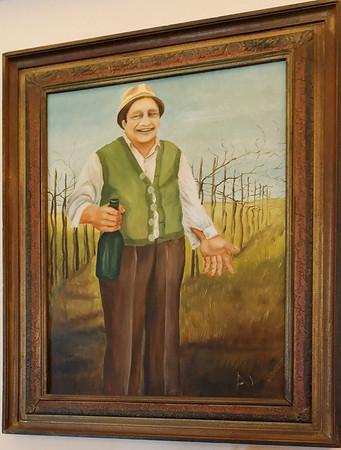 Soave, Monte Tondo winery; the happy founder