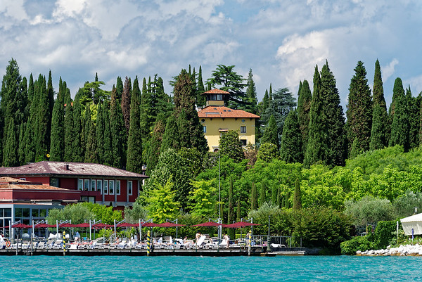 Sirmione; former home of Maria Callas, now apartments