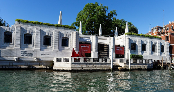 Venice; Peggy Guggenheim Museum, a cool front and rain blew in during the night, giving us beautifully sparkling weather