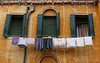 Venice; hanging it out to dry