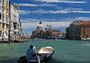 Venice; looking at Basilica di Santa Maria della Salute