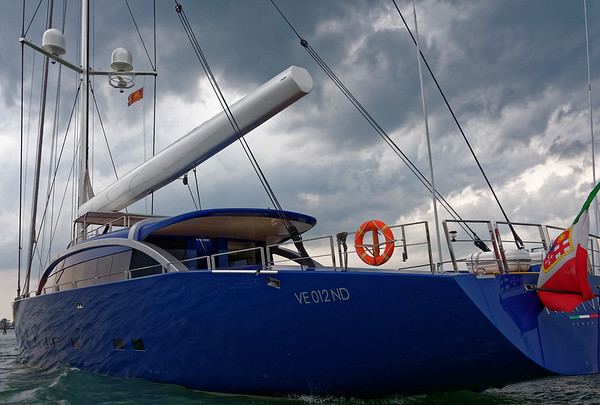 Venice; The 158.79ft Custom sail yacht 'Nativa' was built by Arzana Navi in Italy at their Arzana shipyard , she was delivered to her owner in 2012. This luxury vessel's sophisticated exterior design and engineering are the work of Tripp Design.