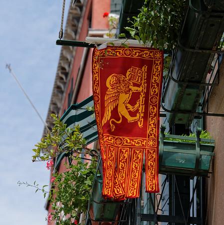 Venice; Venetian flag
