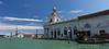 Venice; Punta della Dogana with San Giorgio Maggiore in the background