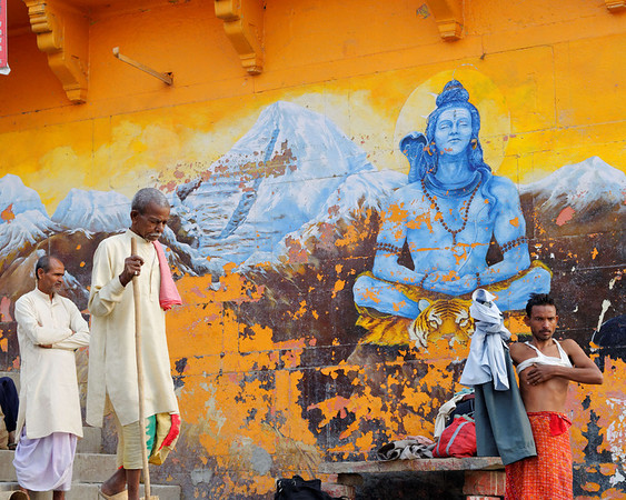 Scene, Ganges, Varanasi