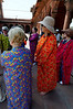 Donning the robes (no shorts, bare arms, shoes, or socks allowed), Delhi