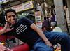 Mugging for the tourist, rickshaw ride, Delhi