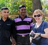 Annie and friends, Qutub Minar complex, Delhi