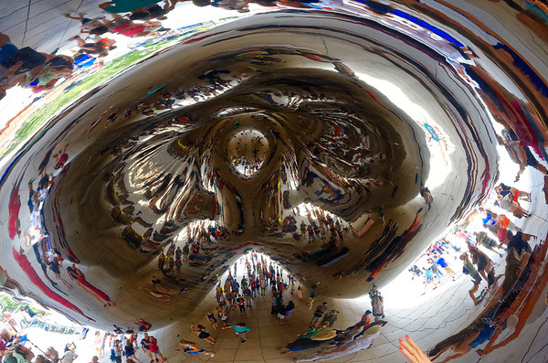 Chicago tour, Cloud Gate